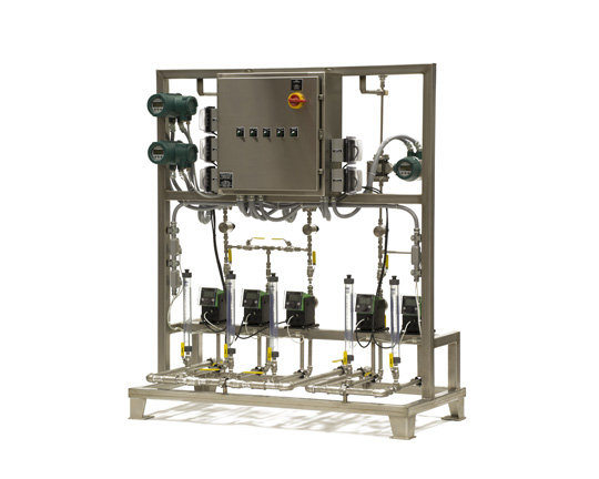 PM Coating & Release Pump Skid